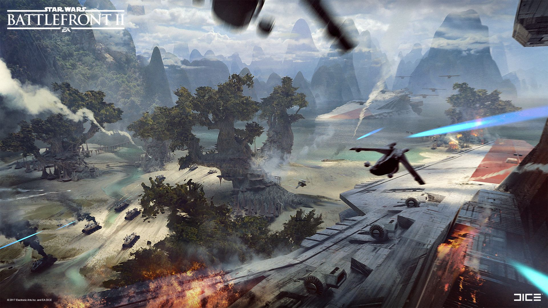 Some Ideas Of How The Epicness Of The Kashyyyk Battles Could Feel