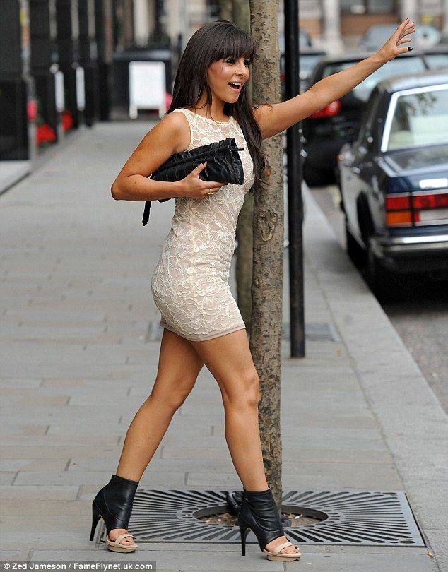Lunch has never been so tasty! Roxanne Pallett indulges in ...