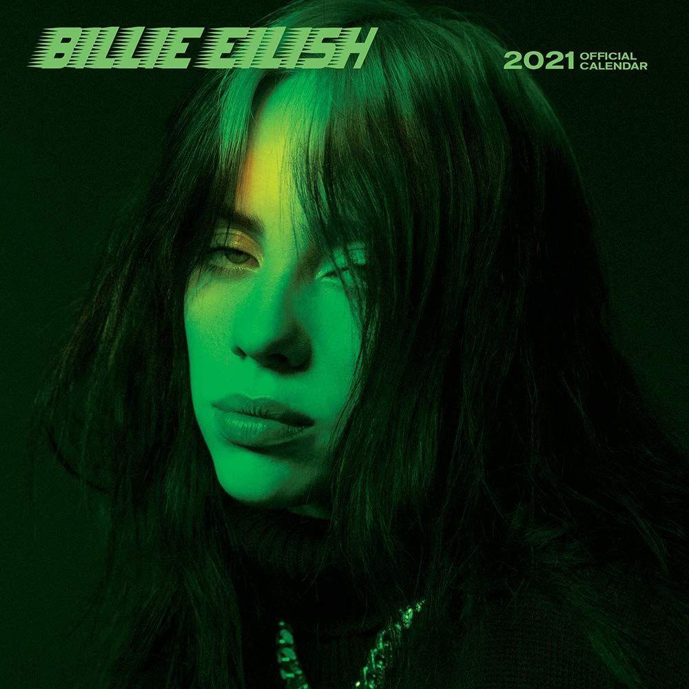 Billie Eilish Mini Wall Calendar In 2020 Billie Billie Eilish Green Aesthetic