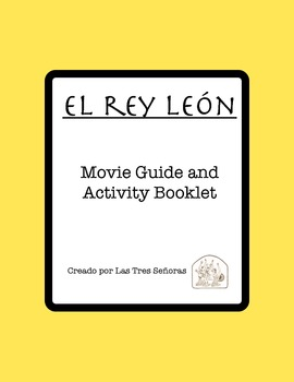 The Lion King Activity Packet And Movie Guide In Spanish El Rey