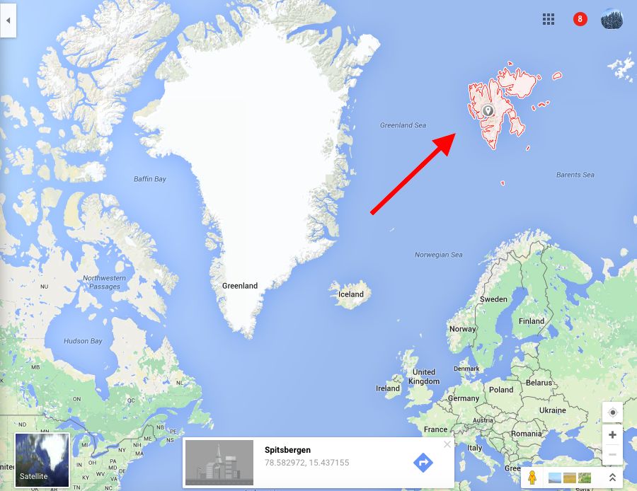 WHERE IN THE WORLD IS SVALBARD? Exploring life on this icy ...