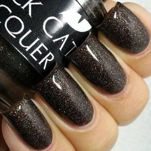 *PENDING TLAW Black Cat Lacquer - Blackest Friday - Nov A Box Indied - NEW in the burrito $12