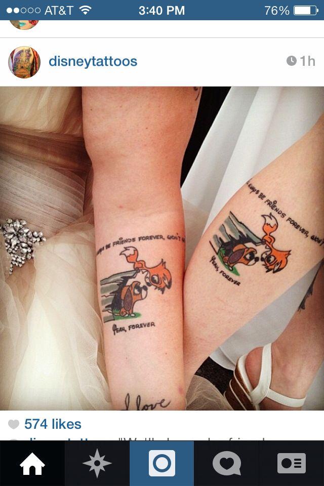 Perfect Friend Tattoos Tattoos Bestie Tattoo