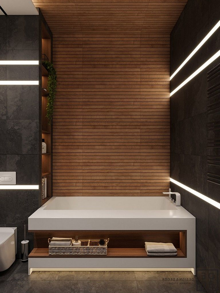 Slat Walls 35 Deluxe Interior Design Ideas With Wood Slat Walls Interior