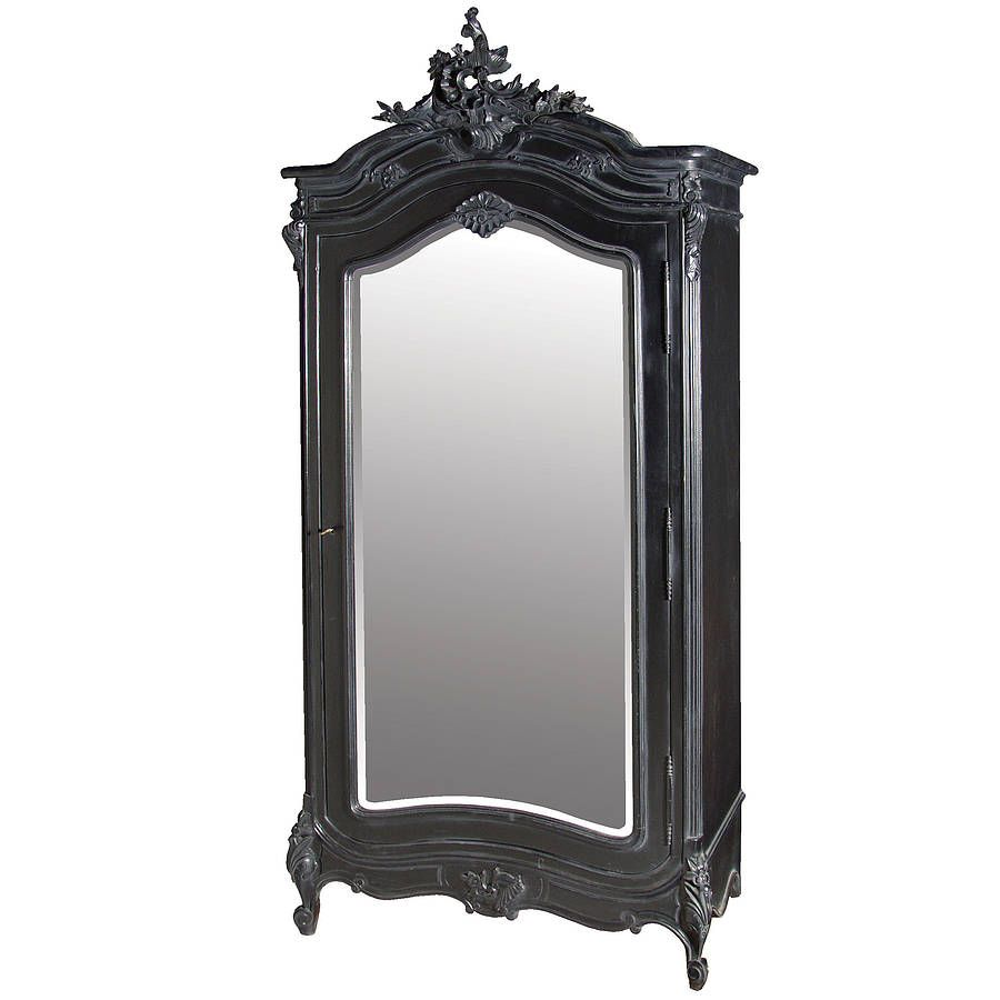 Black French Armoire   Muebles   Pinterest   French armoire ...