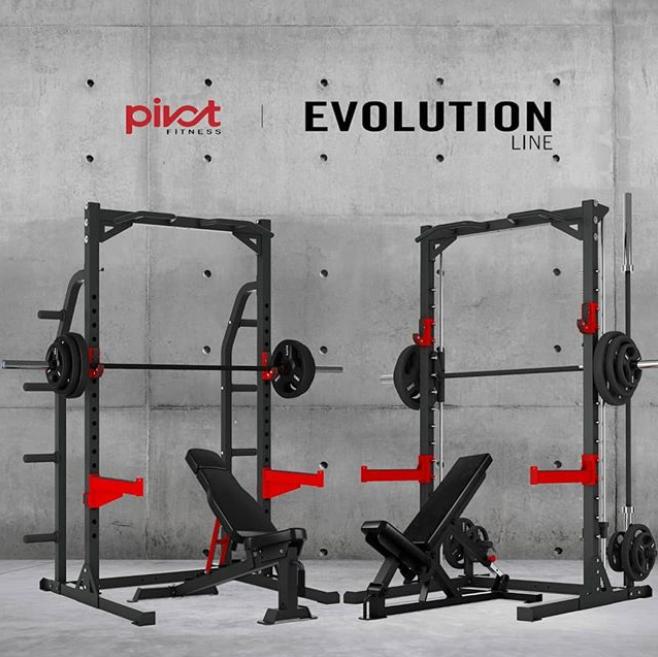 Pivot Fitness Hr3250 Heavy Duty Half Rack Kopen Helisports Is Het Adres Bankdrukken Fitnessapparatuur Deadlift