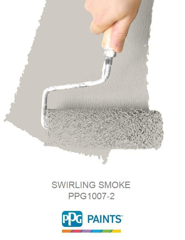 SWIRLING SMOKE is a part of the Oranges collection by PPG Paints ...