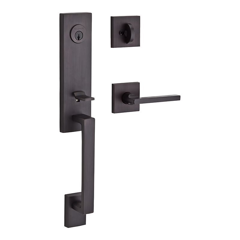 front door hardware brushed nickel. Buy The Baldwin Satin Nickel Direct. Shop For Seattle Keyed Entry Single Cylinder Handleset And Save. Front Door Hardware Brushed