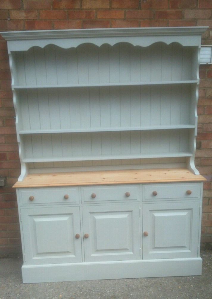 Best Reclaimed Pine Dresser Painted In Farrow And Ball Bone In 640 x 480