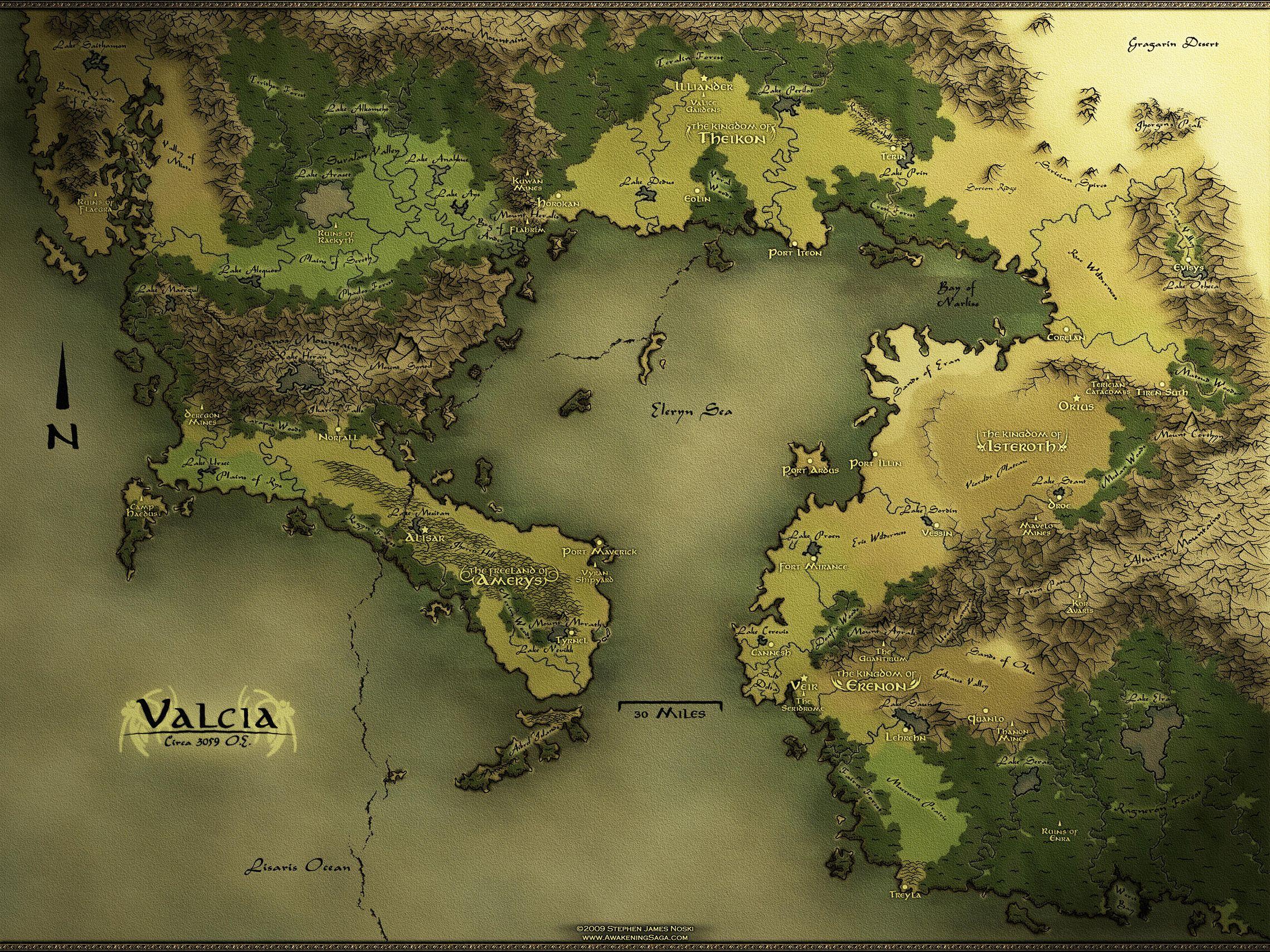 Fantasy Map Maker ~ CASADEWICCA