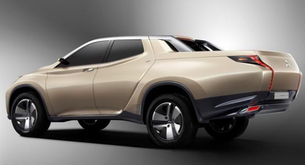 Mitsubishi's GR-HEV Concept (Gallery)