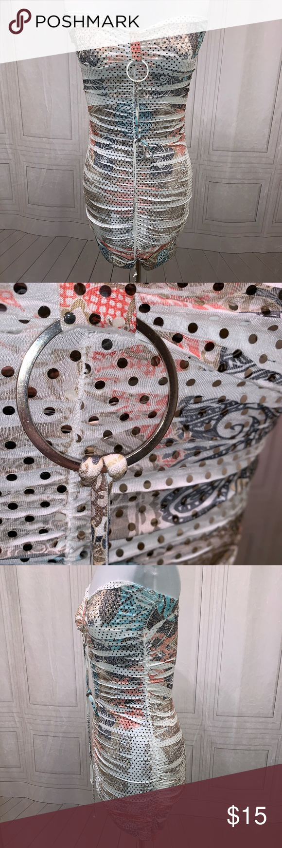 Body Central Tube Top Design Mini Skirt/Top Shirt Body Central Dresses Mini #tubetopoutfits