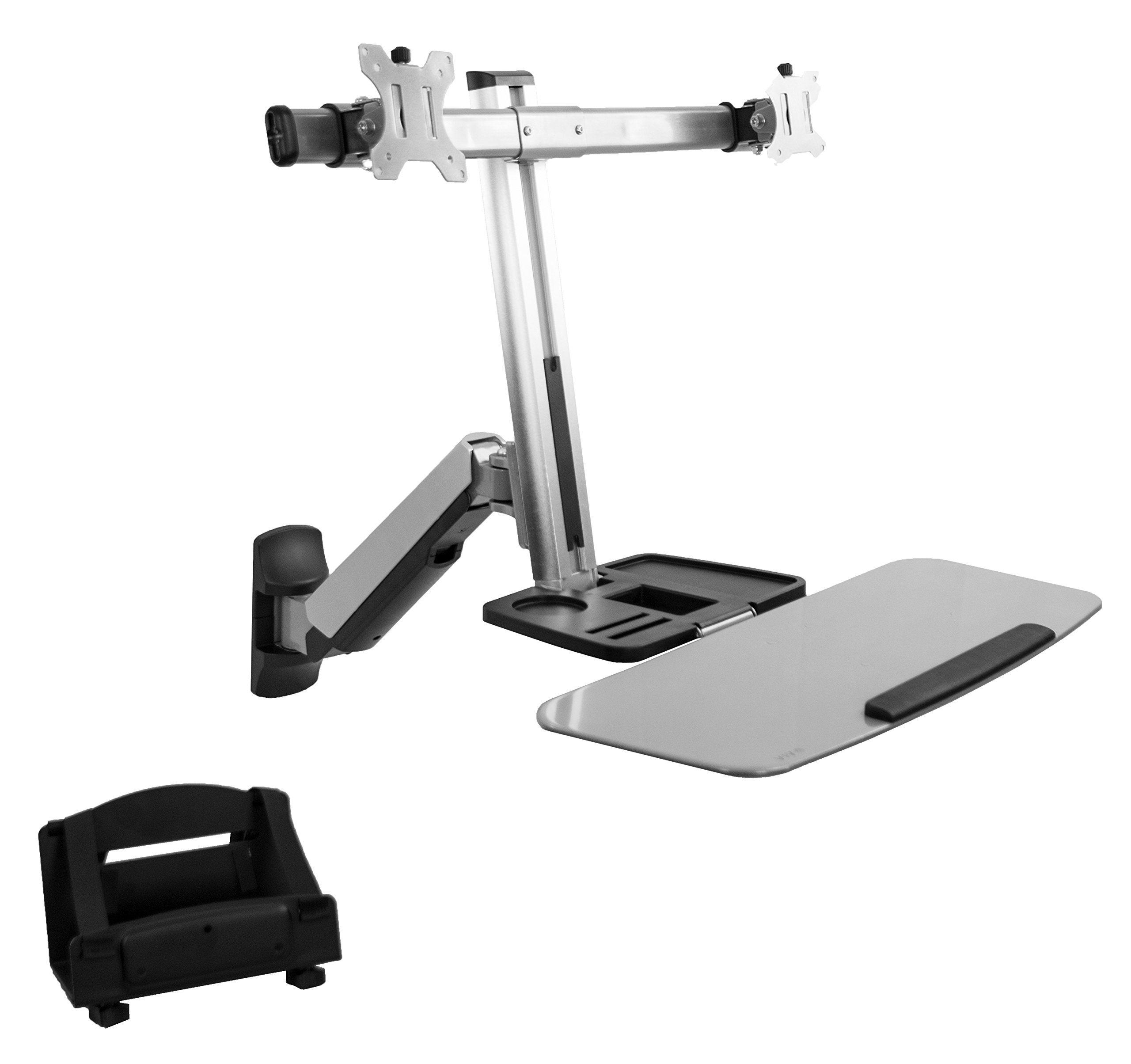 Vivo Dual Lcd Monitor Desk Mount Stand