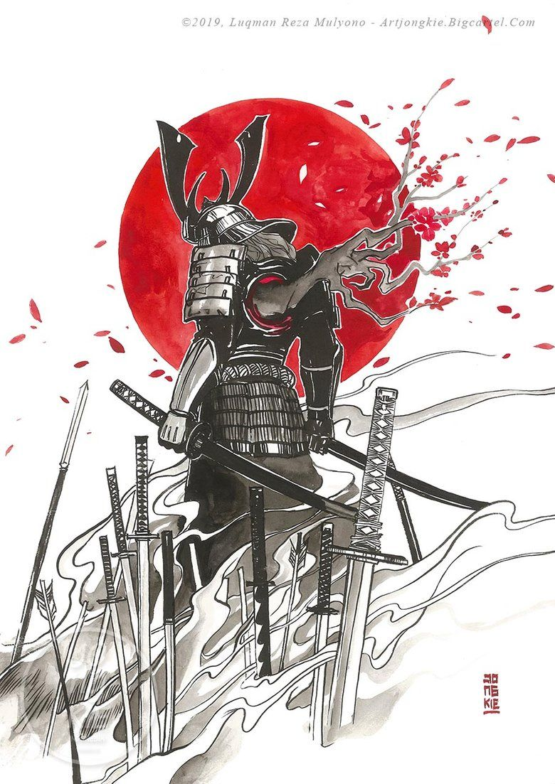 Products Samurai Art Samurai Tattoo Design Samurai Warrior Tattoo