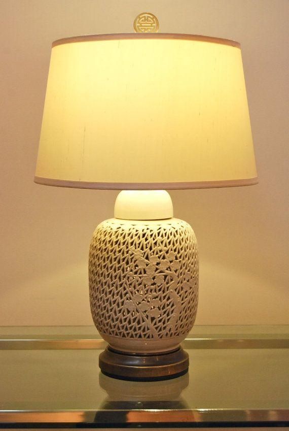 Asian Table Lamps Endearing Cordless  Vintage  Asian Table Lamp  Asian Table Lamps Cordless Decorating Design