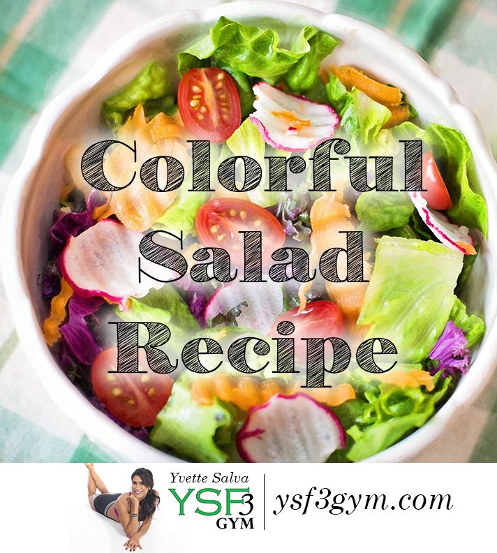 One of my favorite recipes to prep because it is so darn easy and look at all those colors. Get it ready the day before and boom your ready to go! Colorful Salad Recipe https://www.ysf3gym.com/colorful-salad-recipe/?utm_campaign=coschedule&utm_source=pinterest&utm_medium=Yvette%20Salva&utm_content=Colorful%20Salad%20Recipe