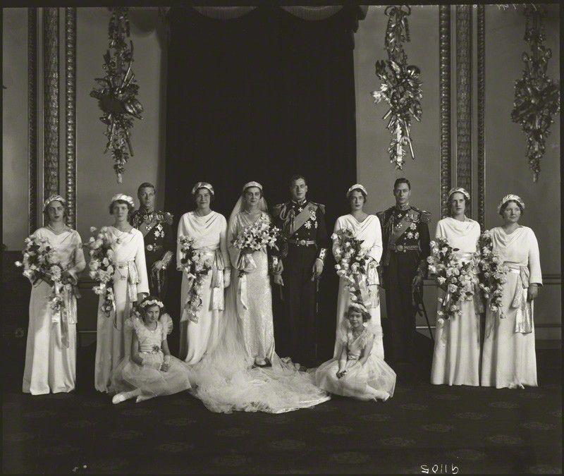 The Wedding Of Prince George, Duke Of Kent And Princess