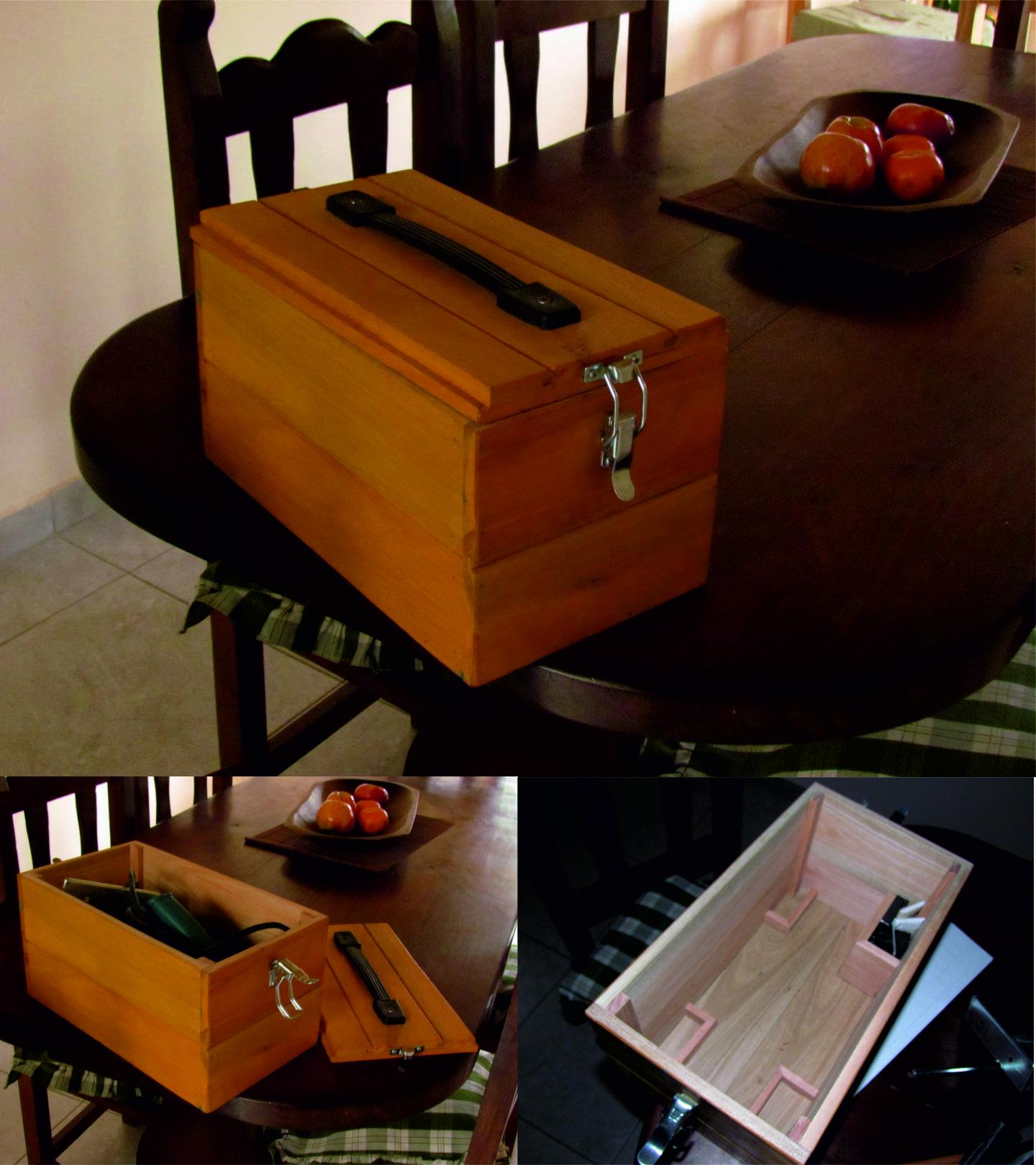 Caja para transportar la cepilladora Cajas
