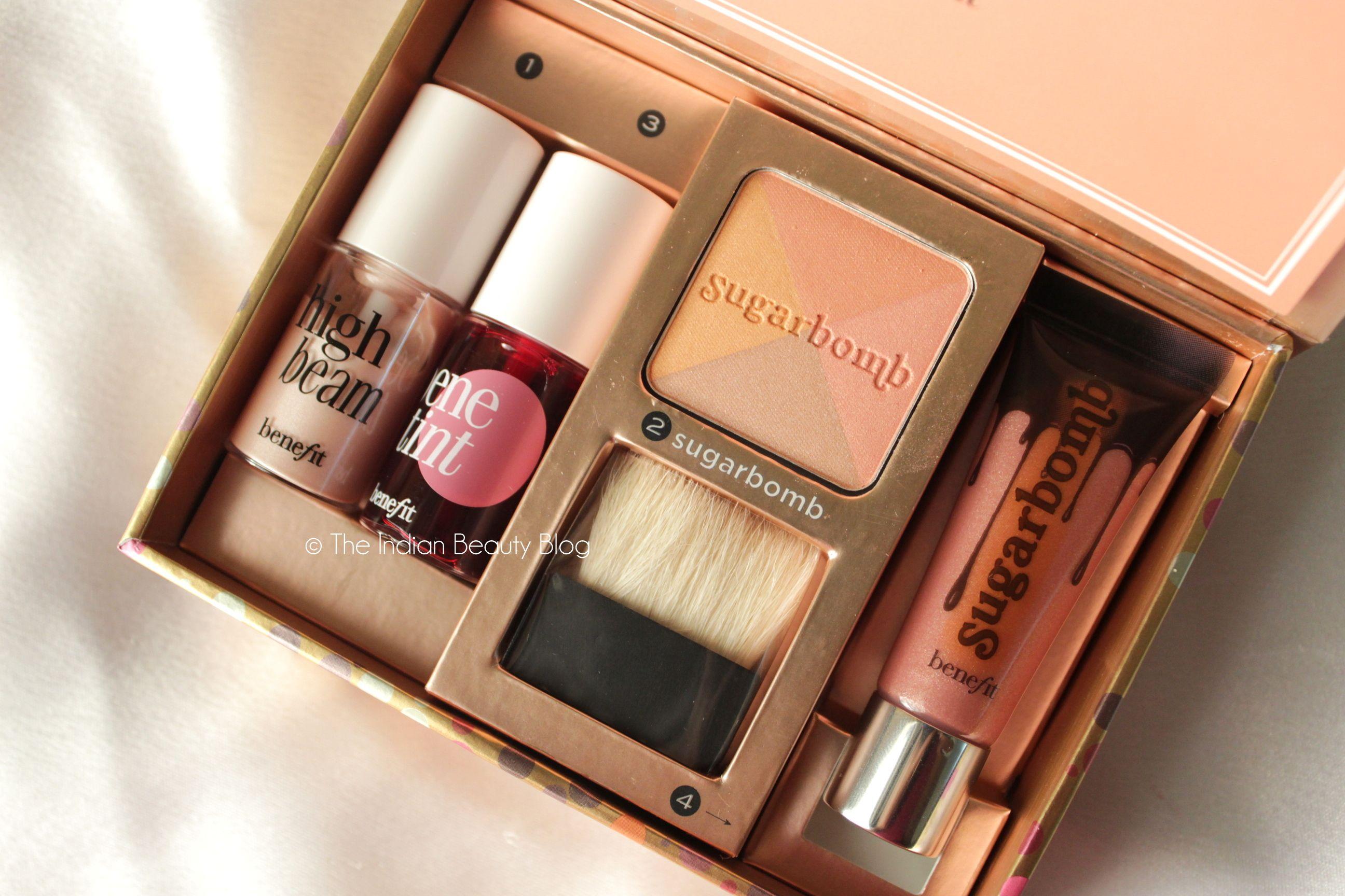 Benefit Sugarlicious makeup kit #Benefit #makeup Benefit Makeup, Benefit Cosmetics, Indian Makeup