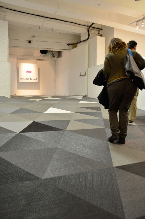 Whiter Shade Of Pale Materials Council S Whiter Than White Exhibition At Super Brands London With Images Bolon Flooring Flooring Inspiration Flooring