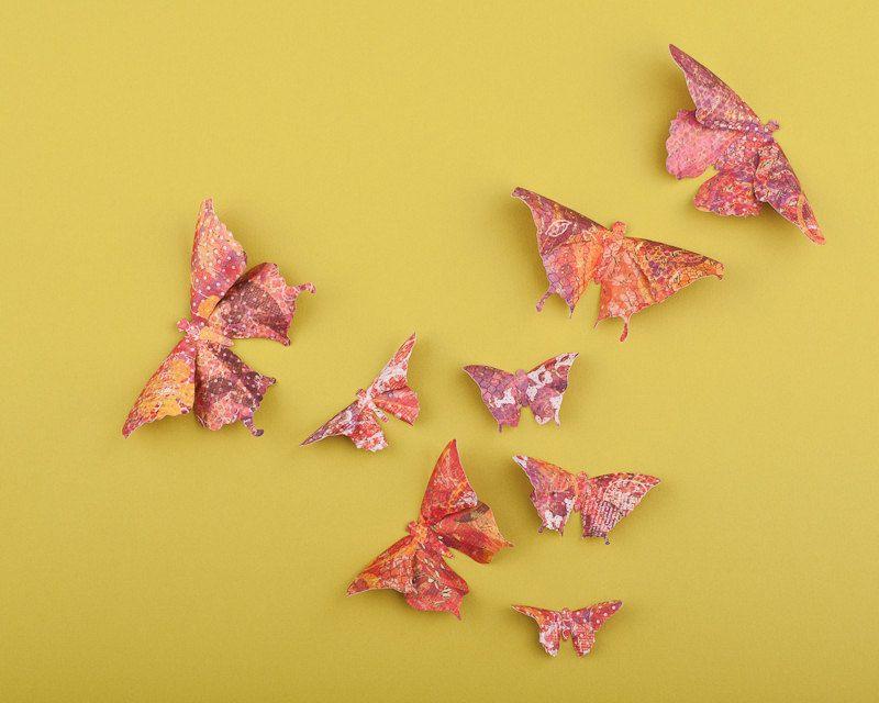 3D Butterfly Wall Art: Wildflower Paper Butterflies for Wall Decor ...