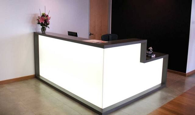 Salon reception desks cheap desk interior design ideas for Cheap desk ideas