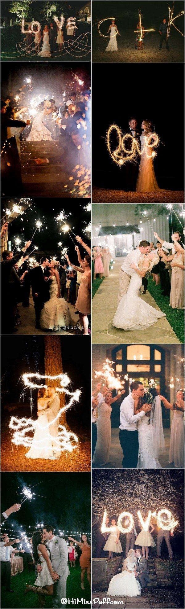 50 Sparkler Wedding Exit Send Off Ideas Http Www Himisspuff Com Sparkler Wedding Exit Send Off Ideas Sparkler Exit Wedding Wedding Sparklers Wedding
