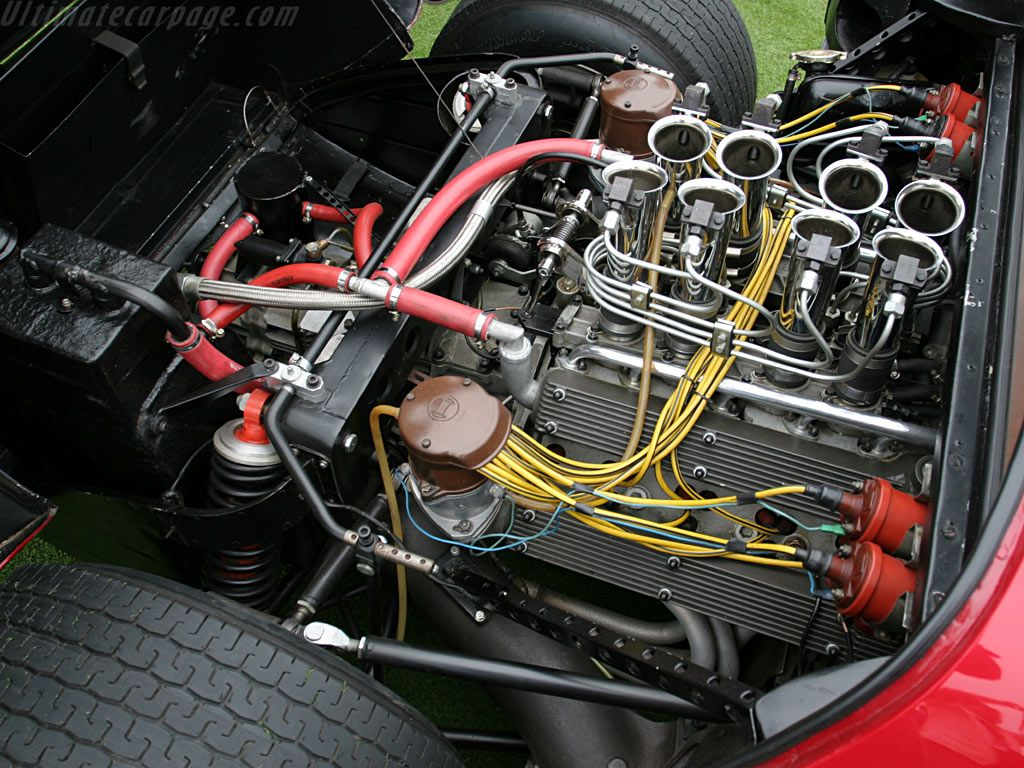 1967 Alfa Romeo 33 Stradale Carporn 4c Wiring Harness Check Out The Engine