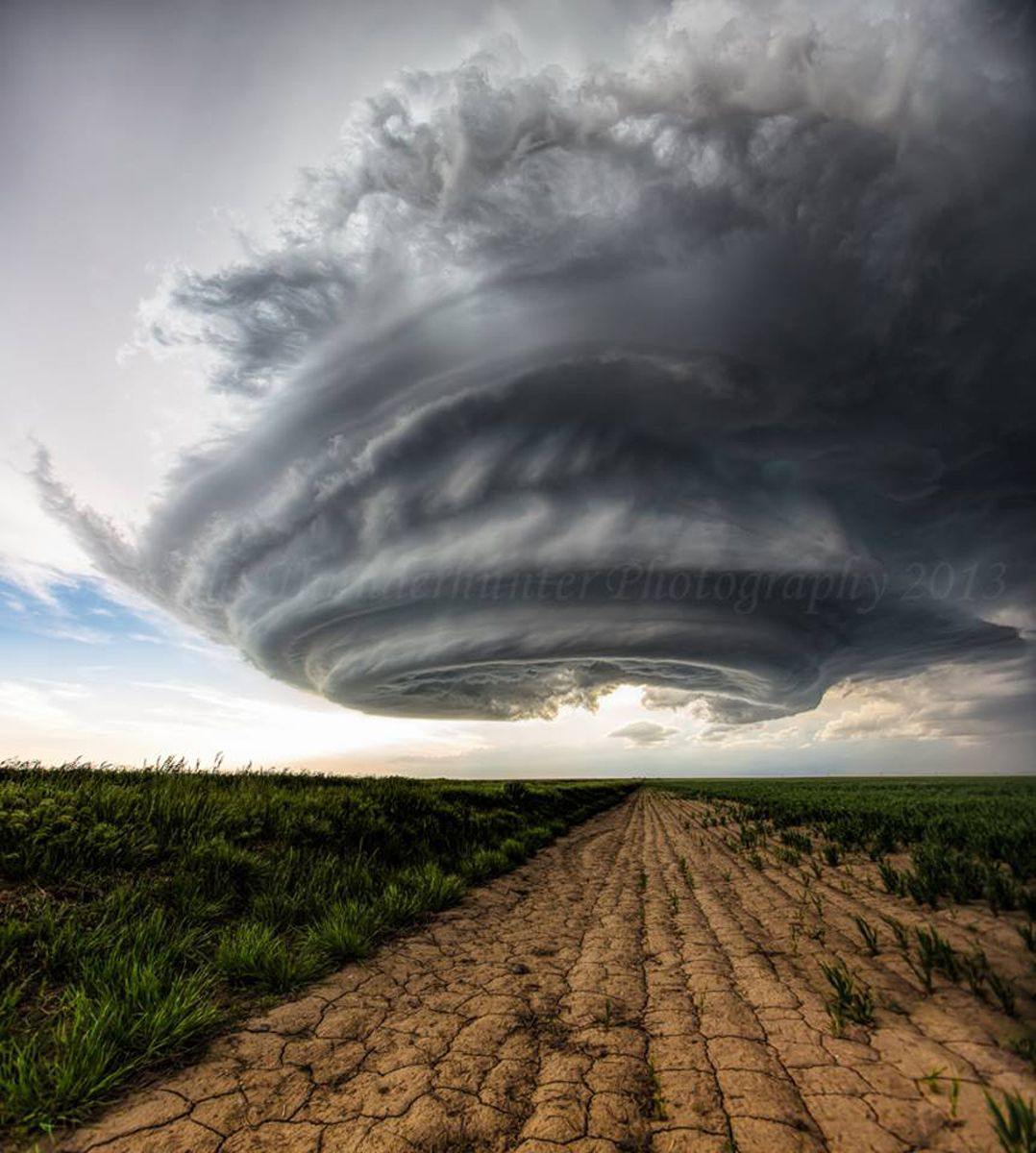 The top 10 weather photographs shared in the Mr Twister Weather Snapshot group on May 26th 2014 #1 Brad Hannon (336 Likes) 5 shot vertical stitched panora