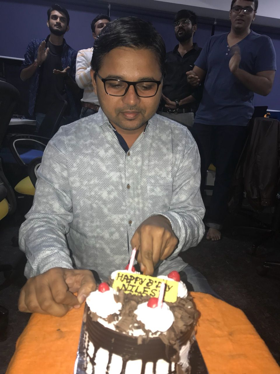Wishing A Very Happy Birthday To Our Android Developer Nilesh