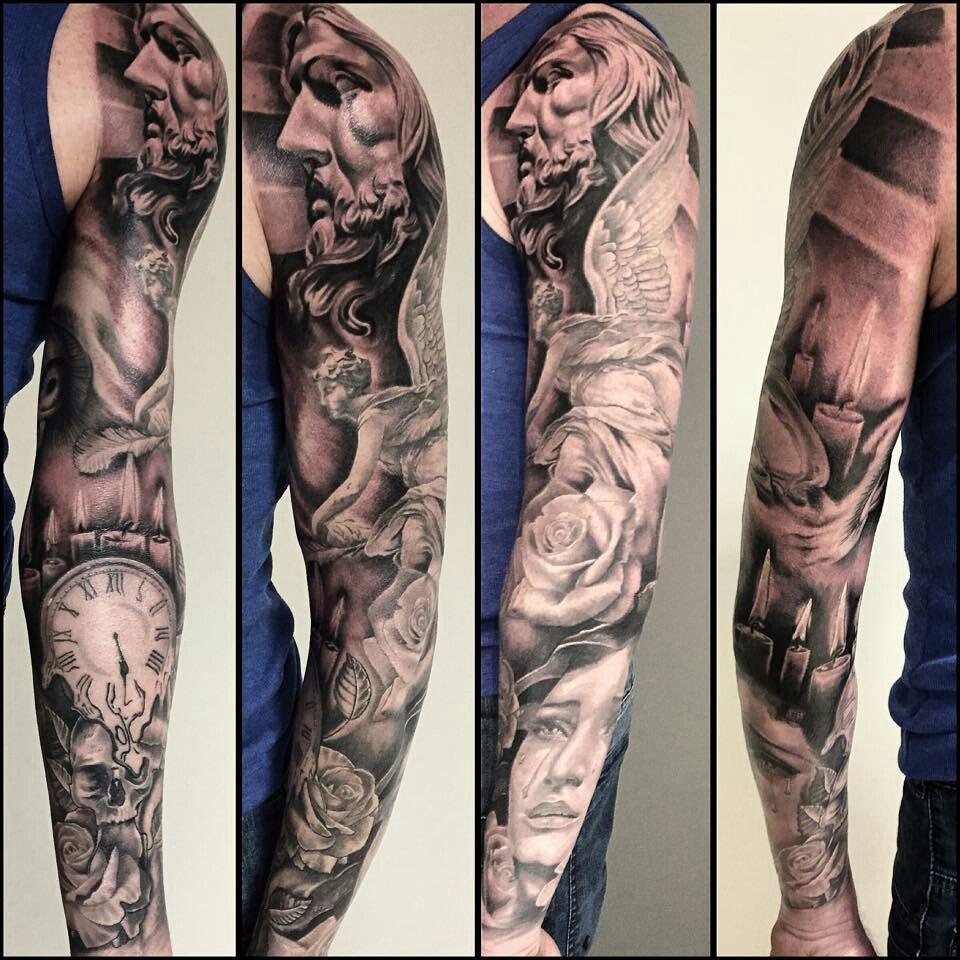 Best Tattoo Sleeve Ideas: Tattoo Sleeve Men By Dylan Ites On Half Sleeve