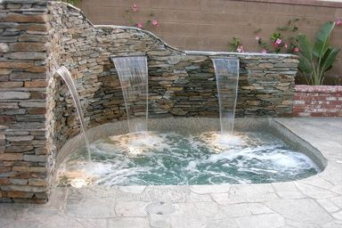 Pin By Johanny Camilo On Great Luxury Pool Tips Jacuzzi Outdoor Hot Tub Outdoor Swimming Pools Backyard