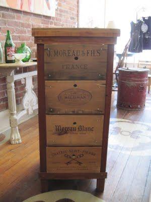 Casa Di Aria Diy 1 2 3 How To Create An Affordable Industrial Wine Crate Shelf Wine Crate Shelf Wine Crate Crate Furniture