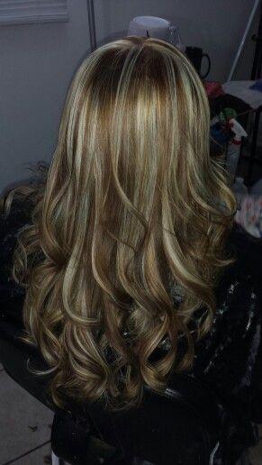 Color de pelo en cafe