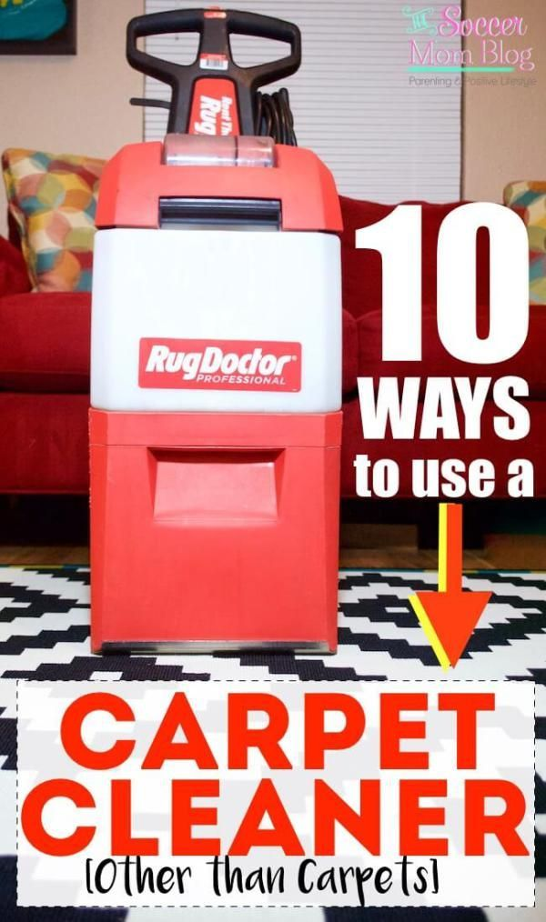I had no idea that you could use a carpet cleaner on all of these things! I also had no idea just how dirty our house really was! #StayClean2016 #RugDoctorDifference (ad)