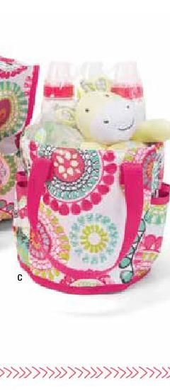 #ClippedOnIssuu from Thirty-One Gifts Summer 2014 Catalog. Cute travel bag for walks or short visits