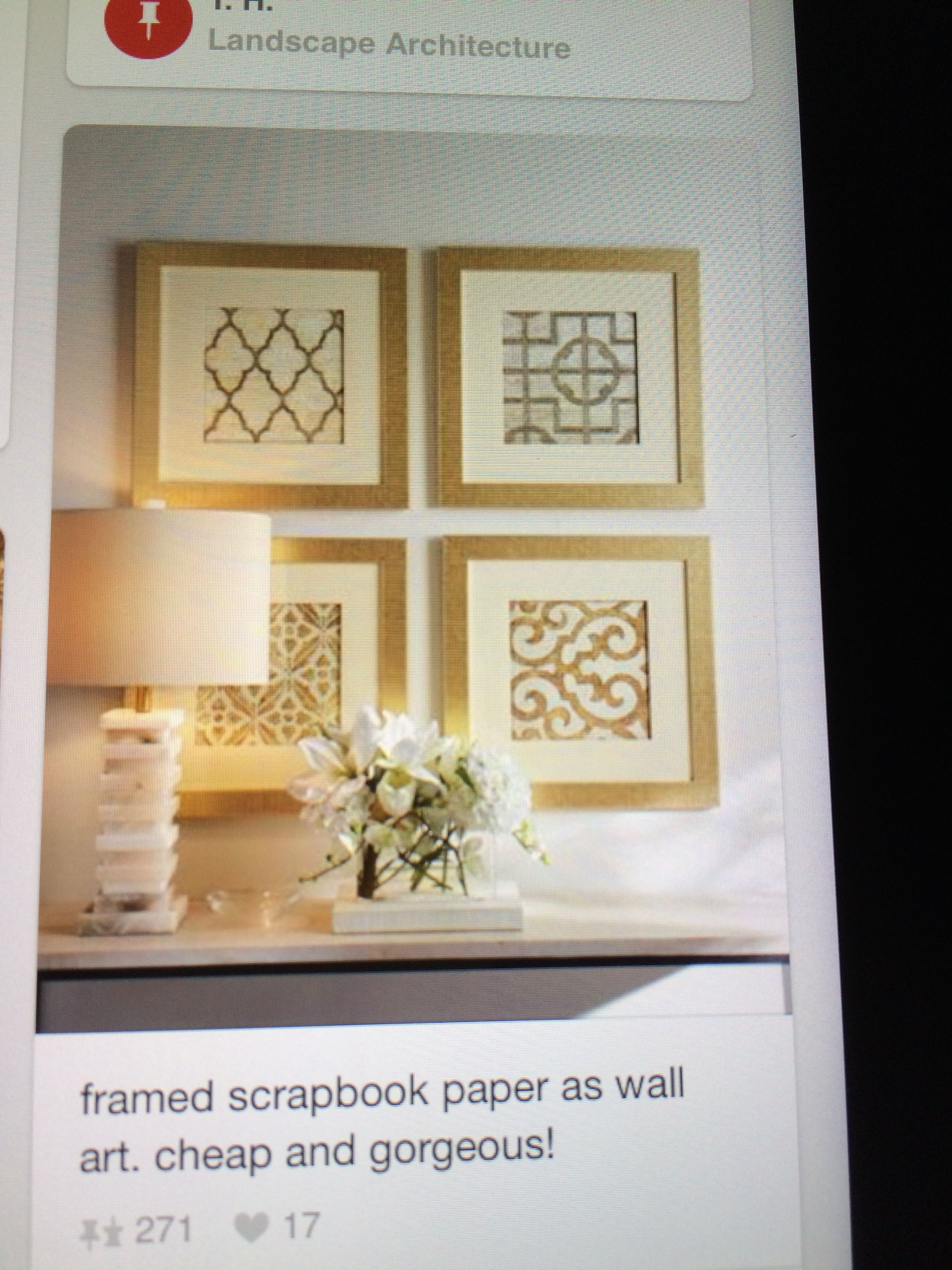 Wall Art Design Cheap Wall Art Square Trellis Floral Pattern