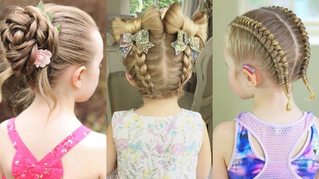 cute braid hairstyle for little girls little girls braids