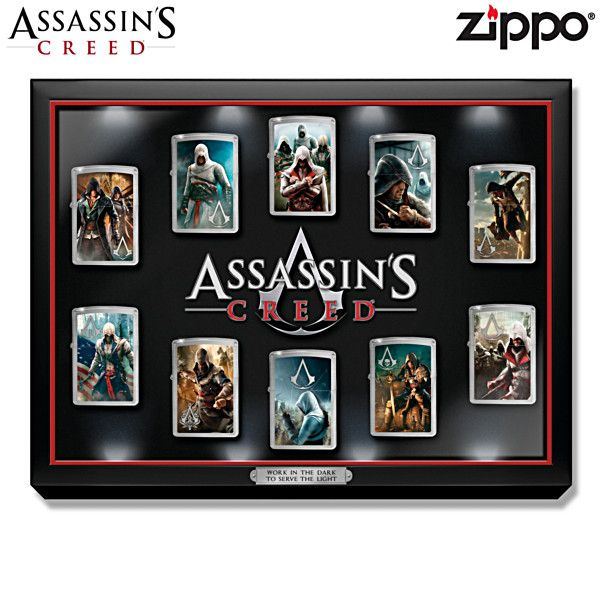Assassin S Creed Zippo Lighter Collection Zippo Zippo Lighter
