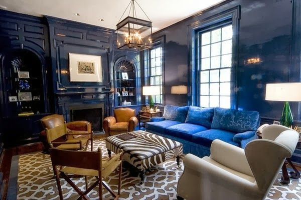 "mesmerizing sherwin williams blue living room | Sherwin Williams ""Loyal Blue"" 