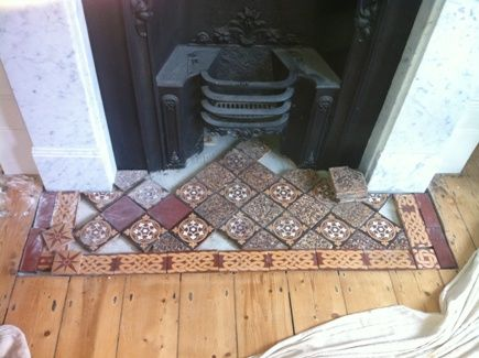 Victorian Fireplace Tiles Victorian Fireplace Victorian