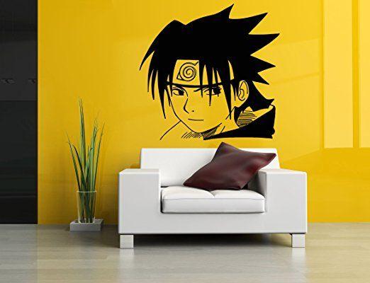 Wall Room Decor Art Vinyl Sticker Mural Decal Naruto Cartoon Manga ...