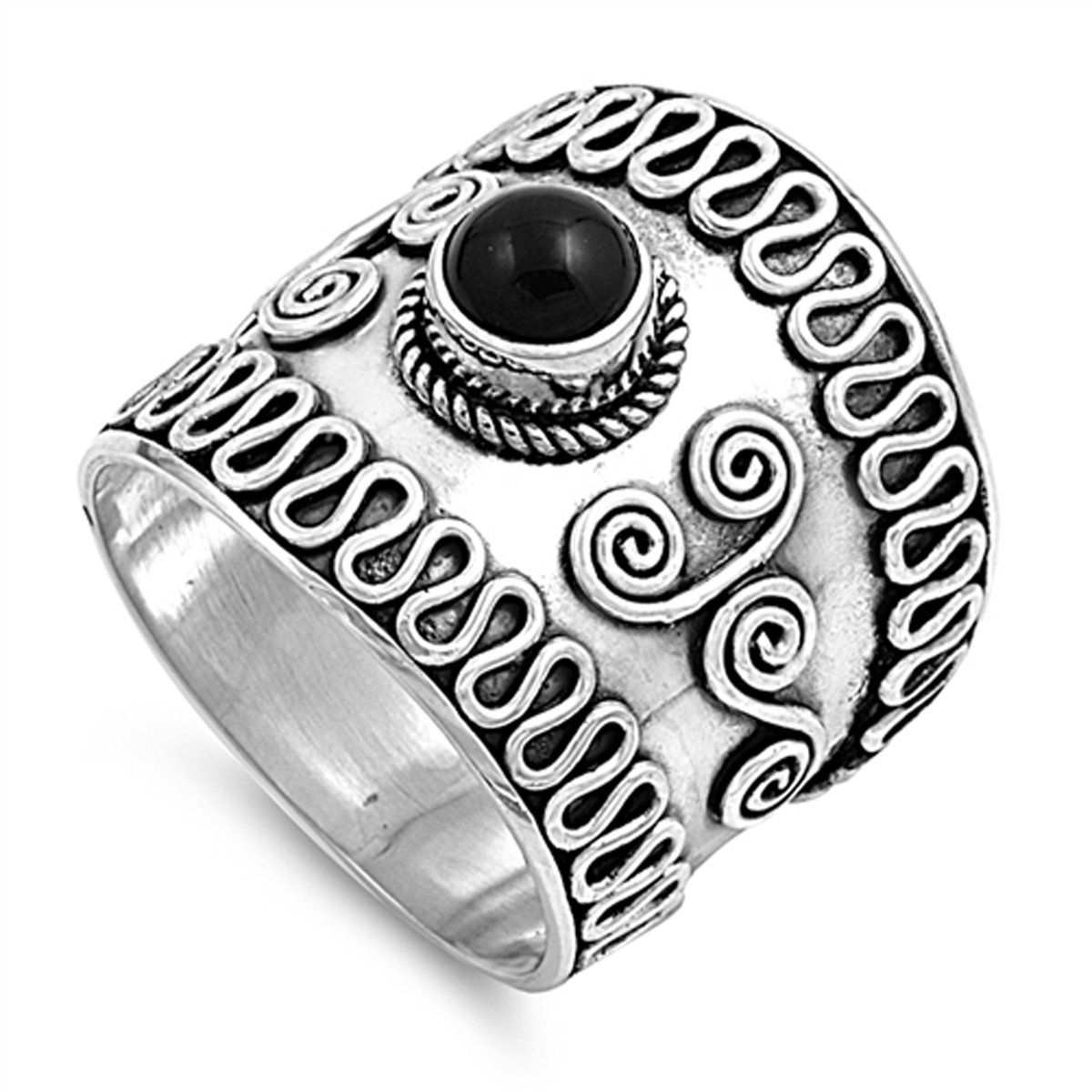 Select Your Color Sterling Silver Stunning Women's Bali