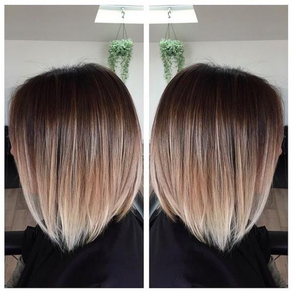 In den letzten Jahren, Mode ombre Frisuren insbesondere #blondeombre