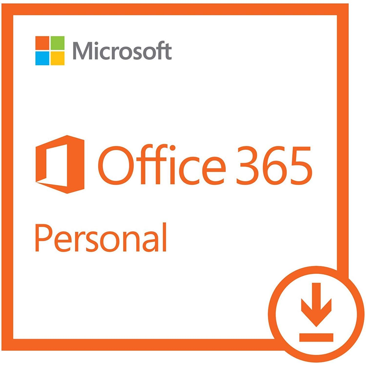 Microsoft Office 365 Personal 1 Year Subscription 1 User Pc Mac Download Software Microsoft Office