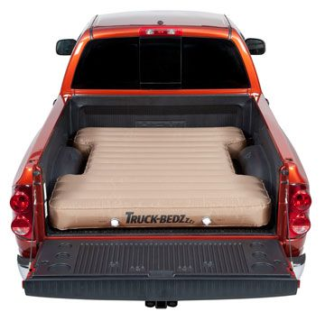 awesome! ute tray airbed mattress just load it with blankets