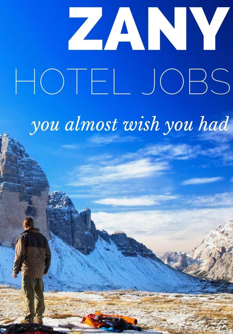 The Coolest Travel Industry Jobs   Travel, Hotel jobs, Job