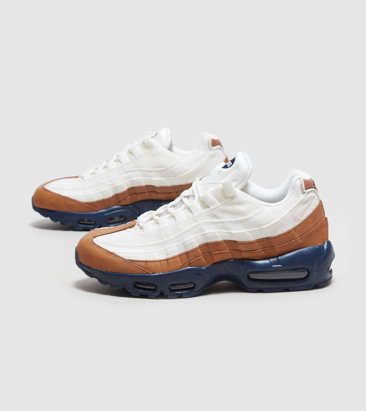 nike air max 95 essential orange and brown trainers nz