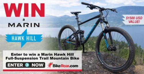 Marin Hawk Hill Full Suspension Trail Mountain Bike Subscribe