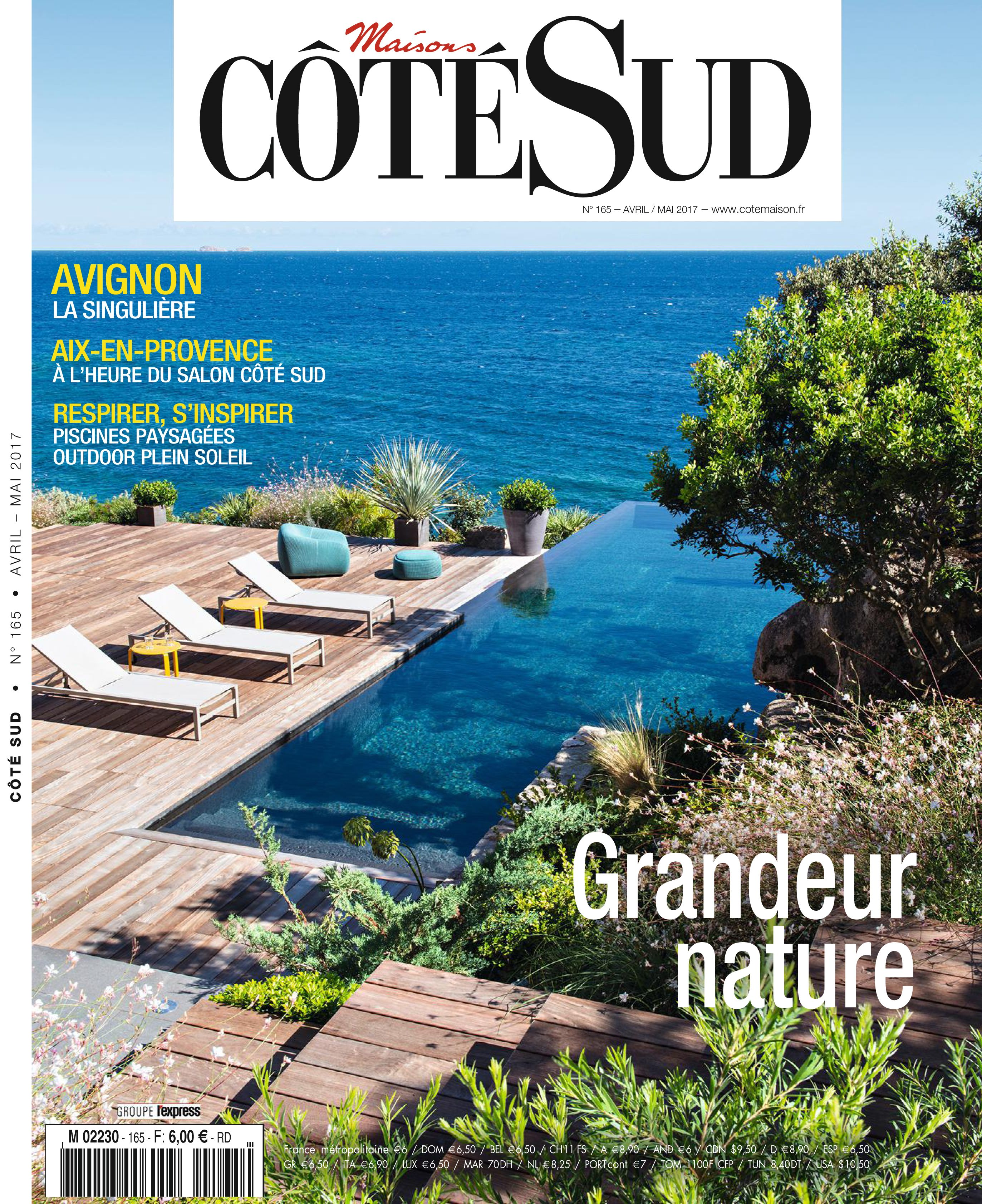 C t sud n 165 piscine cot sud et maisons fran aises - Piscine plein air aix en provence ...